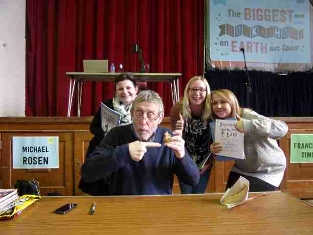 Park Primary School with Michael Rosen