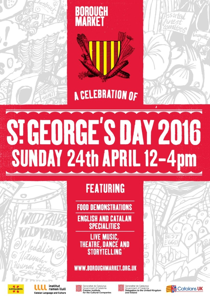 St George's Day flyer