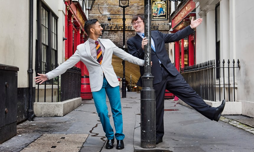 Eric Monkman and Bobby Seagull