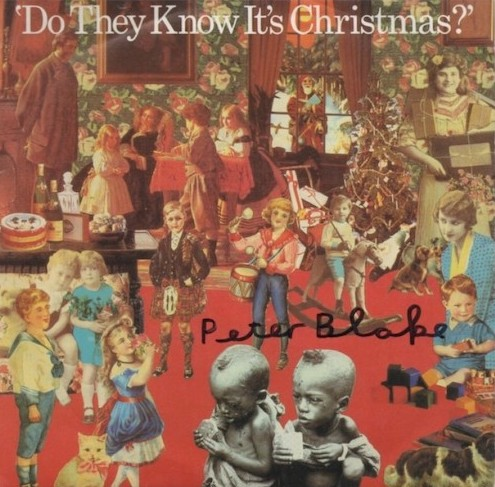 Do They Know It's Christmas? signed by Peter Blake
