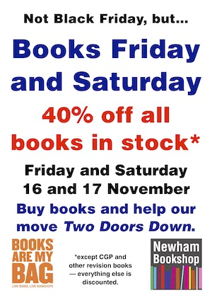 Books Friday Saturday 40% discount