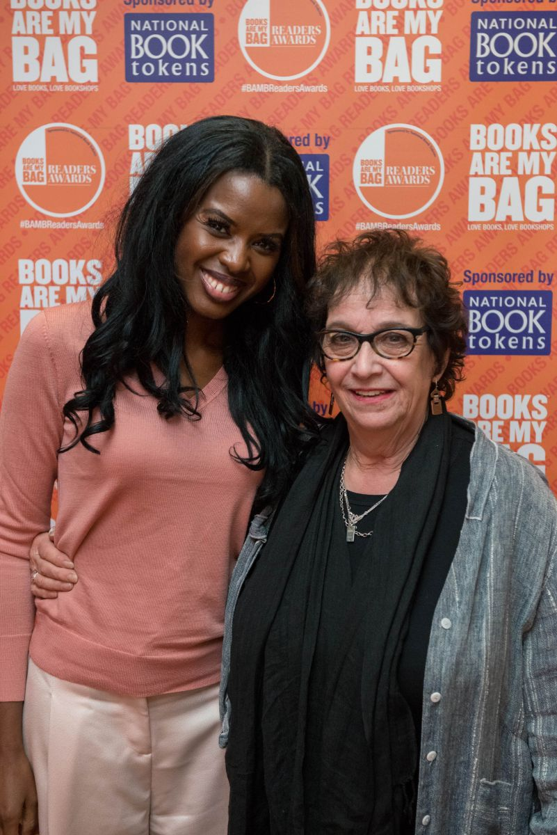 Vivian Archer with June Sarpong