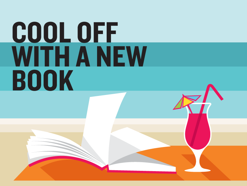 Cool off with a new book