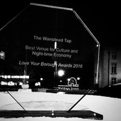 Love Your Borough award trophy