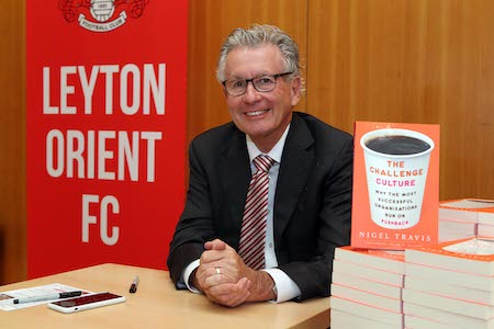 Nigel Travis, Chairman of Leyton Orient FC