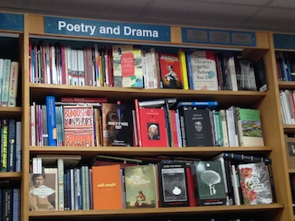 Section title: poetry and drama