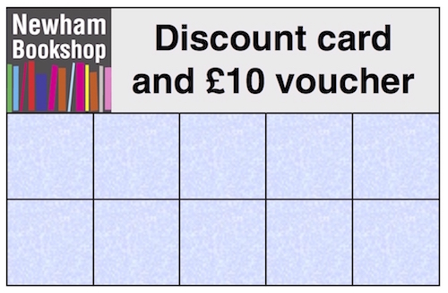 Discount card, front