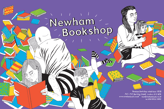 Newham Bookshop, Your Ad Here poster