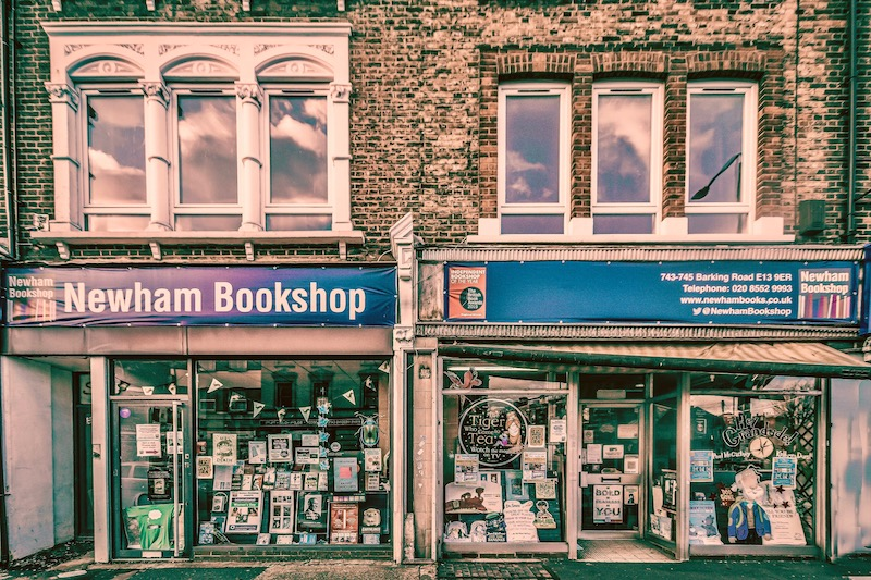 Newham Bookshop by Pete Fallan